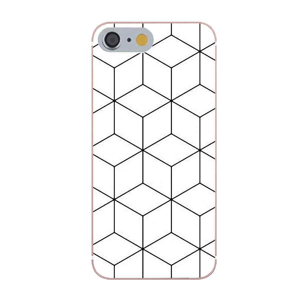 Topaz rubinowy kryształ Hon oszołomiony geometryczne dla Huawei Honor 4C 5A 5X 6A 6C 6X7X9 V8 v10 Mate 7 8 10 P9 P20 Pro Lite zagraj przypadku telefonu komórkowego
