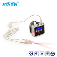 ATANG New 19 Laser Diodes Wrist Physical Therapeutic Watch For Treating Hyperviscosity Hyperlipidemia and Diabetes Otitis Media