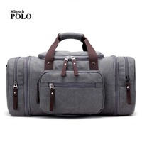 2017 New Men S Vintage Canvas Travel Bag Male Handbag Leisure Bag Bucket Bag Man S