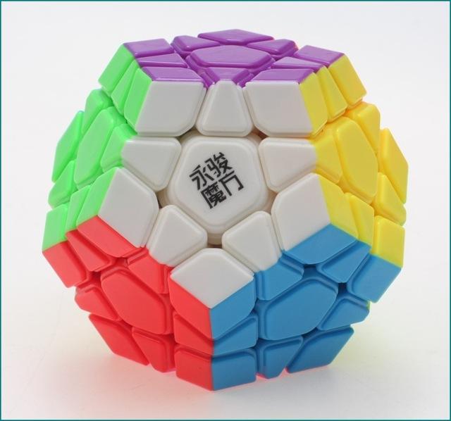Yuhu 12-side Yongjun YJ Cubo Mágico Speed Puzzle Cubos de Aprendizaje y Educativos Juguetes para Niños