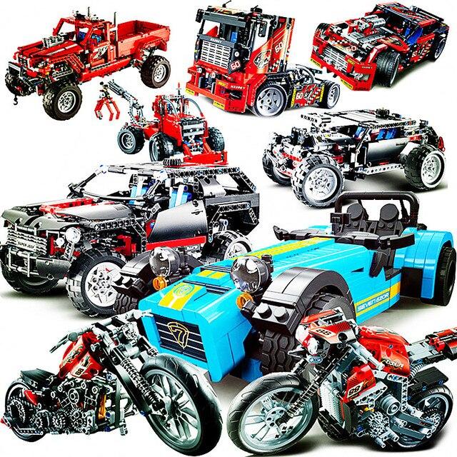 Sports Car Model Blocks 1