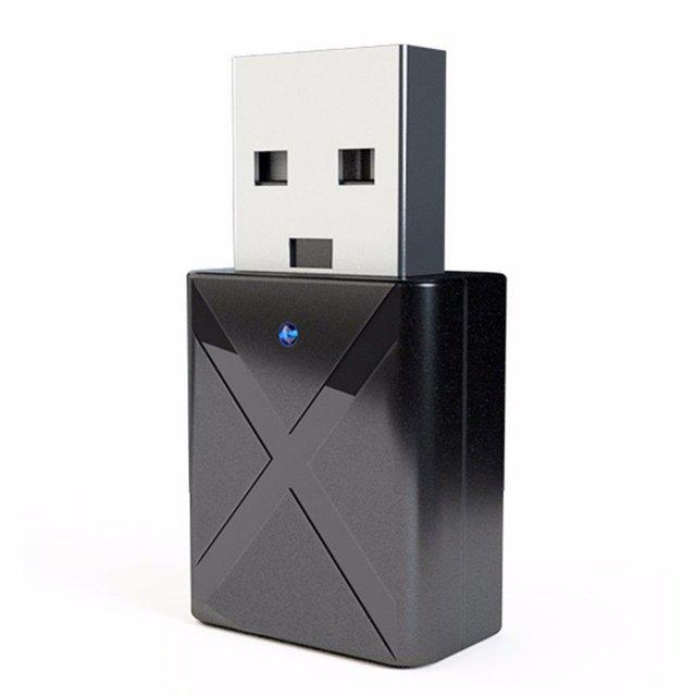 USB Bluetooth 5.0 Bộ Thu Phát Âm Thanh Adapter Dành Cho TIVI/PC Tai Nghe Loa