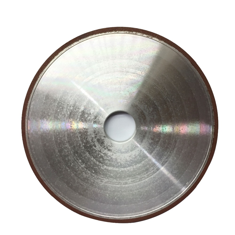JOINT LEARNING INITIATIVE 1 pc 200mm Fraise Broyeur Rotatif Diamant Meule 150/180/240/320 Grain plat Meules Outils Abrasifs