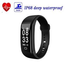 2017 new Sensible Band F09 HR Coronary heart Price Monitor Pedometer IP68 Waterproof Pulsera Inteligente Sensible Wrist Band Android IOS P2