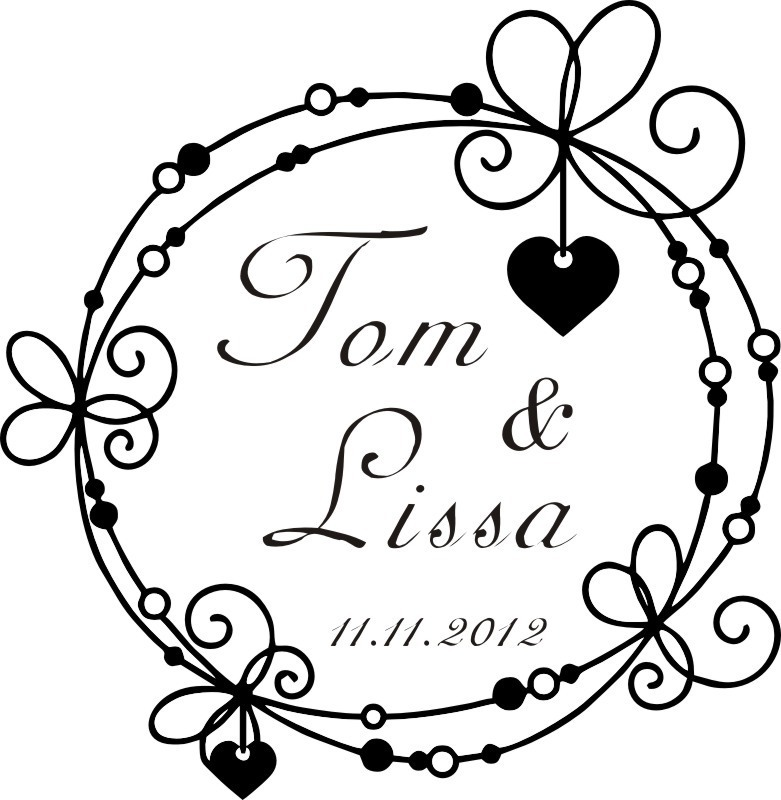 personalized custom wedding stamps invitation card seal