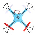 2.4GHz 4.5CH 6 Axis 3D Rolling Mini RC Quadcopter Kit Set Blue