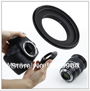 100% Guarantee 67 mm  Aluminum  new Macro Reverse Adapter Ring for Canon EOS EF/EF-S Mount  free shipping