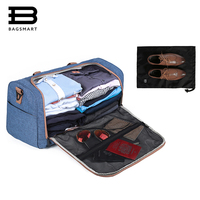 BAGSMART Designers Bag Weekend Travel Bag For Men and Women Shoes Holder Travel Tote Large Capacity Carry On Luggage