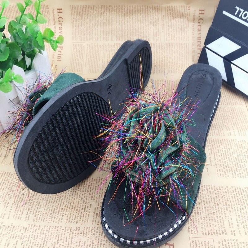 Y291 женские тапочки, тапочки больше цвета домашние летние тапочки 18 цветов