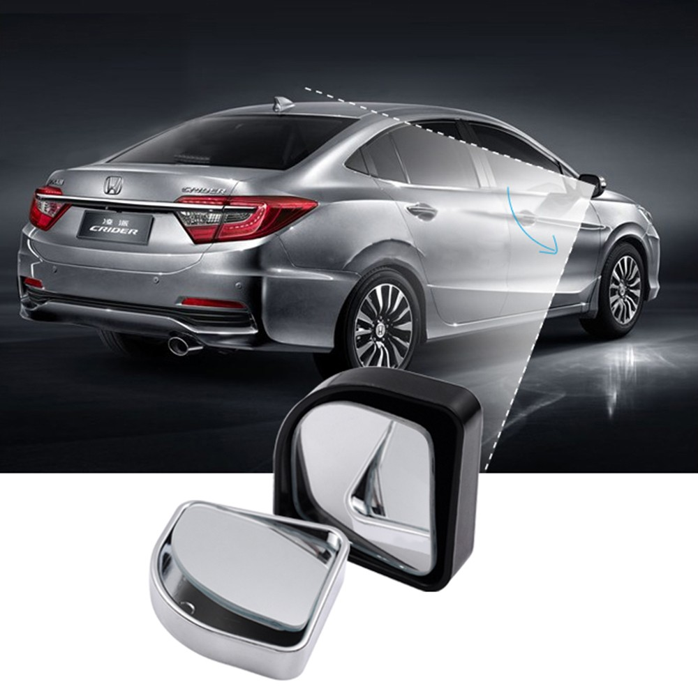 Car Styling 2 PCS Car Vehicle Blind Spot Dead Zone Mirror Rear View Mirror Small Round Mirror