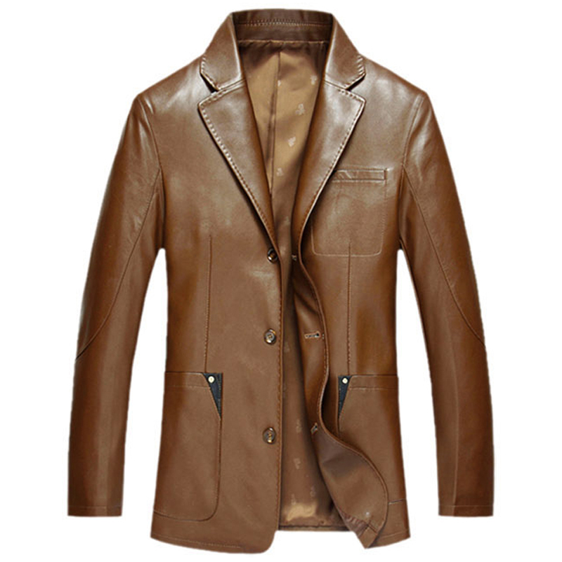 Popular Italian Leather Jackets Men-Buy Cheap Italian Leather ...