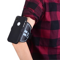 Sport Mobile Phone Case Armband For IPhone X Gym Running Exercise Phone Holder Pouch Arm Band