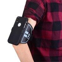 Caixa do telefone móvel esporte armband Para o iphone X Ginásio Exercício de Corrida Telefone Titular Bolsa arm band para iPhonex