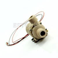 New DC 12V Solar Hot Water Circulation Pump Brushless Motor Water Pump 3M