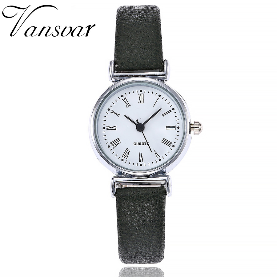 Fashion Exquisite Small Simple Women Dress Watch Leather Female Clock Women's Mini Design Wristwatch Clock Relogio Feminino A30