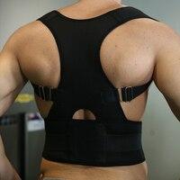 2016 Hot Sale Free Shipping Belly Sweat Belt Posture Brace Shoulder Back Support Back Posture Corrector