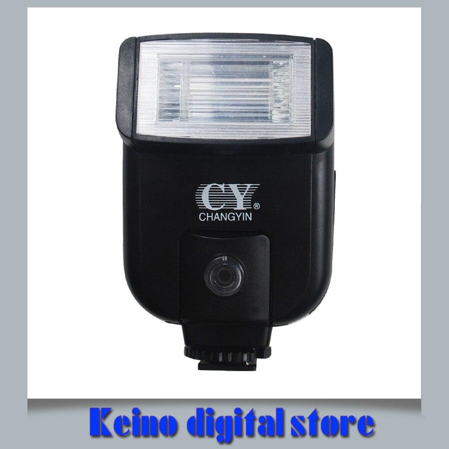 YINYAN CY-20 CY20 Горячий Башмак Вспышки Света с 2.5 мм PC Sync Порт для Nik & н D3300 D5300 D610 D7100 D5200 D3200 D90 D40 D80 D70