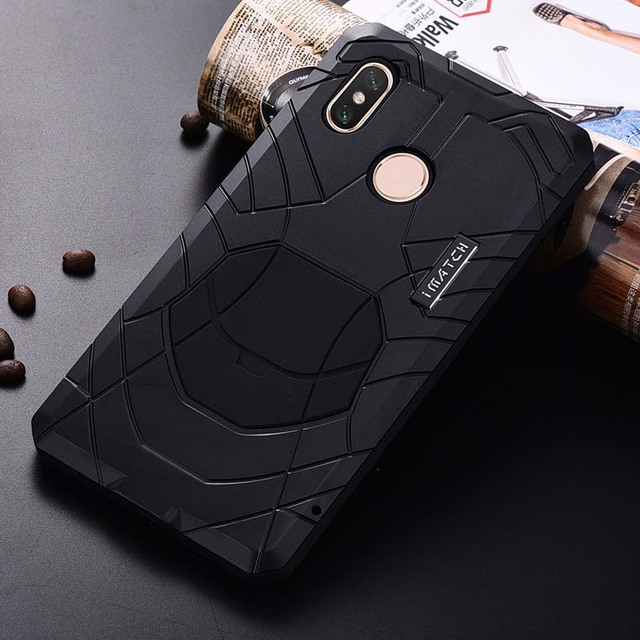 timeless design 0afa5 132d5 US $24.94 40% OFF|Luxury Outdoor IMATCH Original For Xiaomi MI Max 3 Sports  Army Tactical Shockproof Waterproof Metal & Silicone Phone Case JS0468-in  ...