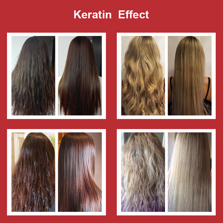 11.11 Brazilian Keratin Hair Treatment 300ml Formalin 5% Straightener & Treatment for Damaged Hair Hair Care Free Shipping 9