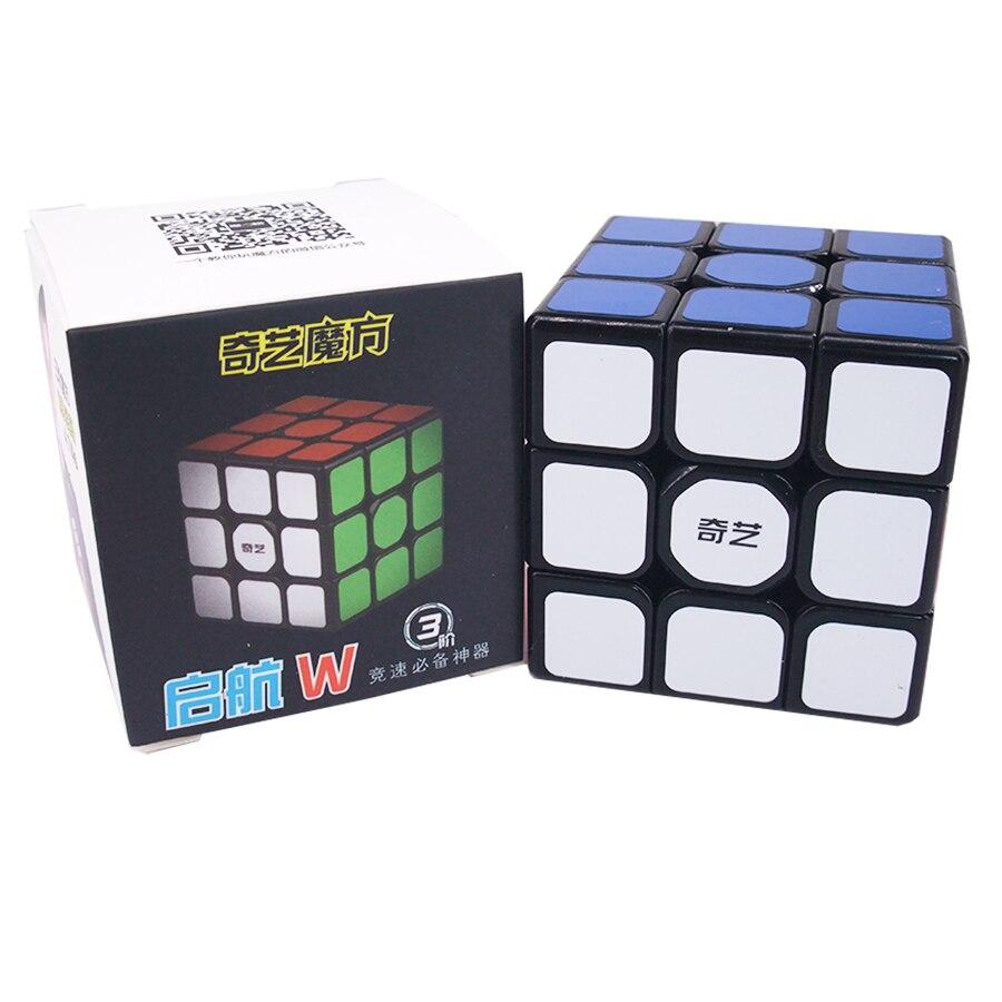 QiYi QiHang W Magic Cube 3x3 Mofangge Sail Speed Cube 3x3x3 5.6 Cm Sail Cubo Magico Educational Puzzle Cube Toys For Children