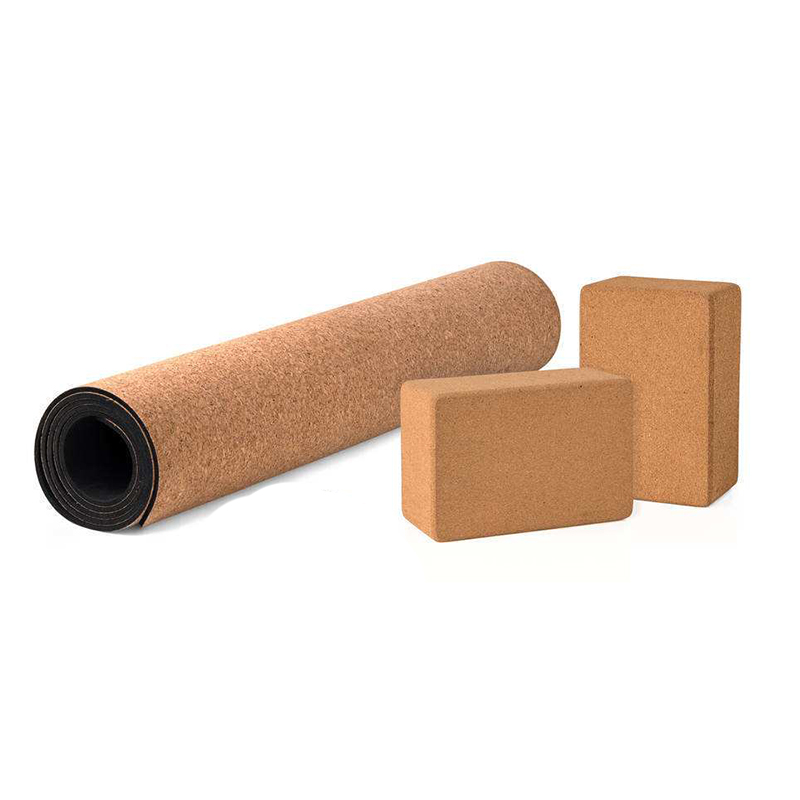 5MM Non-slip Cork TPE Brand Yoga Mat with Yoga Block Breathable Tasteless Gymnastics Mats Sports Pilates Mats Yoga Exercise Pads qubabobo 5mm non slip cork natural rubber yoga mats for fitness women pilates gymnastics mats brand yoga exercise pads sport mat