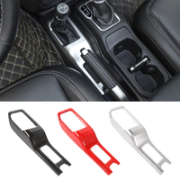 1Pcs Car Interior Mouldings For Jeep Wrangler JL 2018+ ABS Gear Shift Cover Panel Decoration for Jeep Wrangler JL Accessories