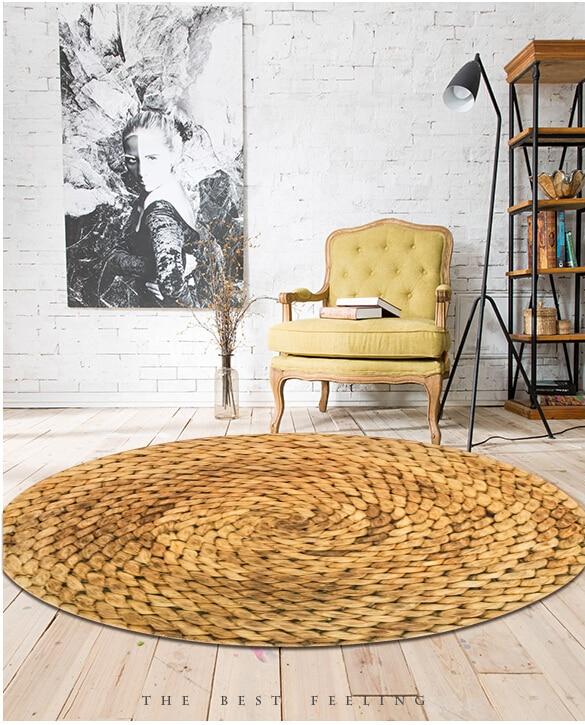 grand tapis rond imprime 3d 1 8m style japonais moderne et minimaliste pour salon chambre a coucher table basse chaise pivotante
