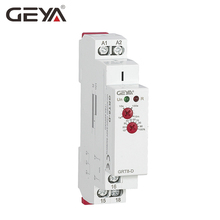 цена на Free Shipping GEYA GRT8-D 12V Time Delay Relay Delay off without Supply Voltage AC/DC12V-240V 1 Module Time Relay 12V Timer