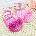 Лета младенца Prewalker Обувь Принцесса Девушки Парни Дети Мягкой Подошве Anti-slip Обувь