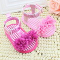 Zapatos de Prewalker del Verano del bebé Princesa Niñas Niños Niños Zapatos de Suela Blanda antideslizante