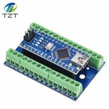 NANO V3.0 3.0 contrôleur Terminal adaptateur carte d'extension Simple plaque d'extension pour Arduino AVR ATMEGA328P