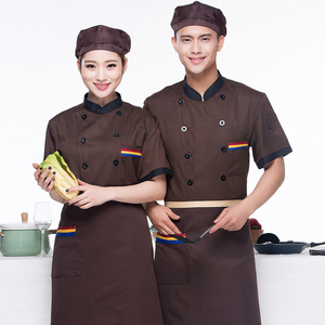 Image 3 - Men Long sleeved Chef Jacket Hotel Service Working Wear Restaurant Kitchen Work Tooling Chef Uniform Cooking Clothes Women 89