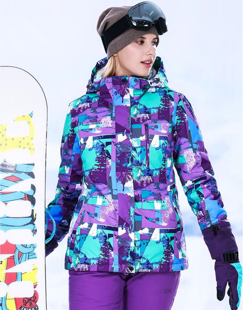 Dynamic Winter Snow Jacket Women Ski Suit Female Snow Jacket And Pants Windproof Waterproof Colorful Clothes Snowboard Sets Snowboarding Sets Skiing & Snowboarding