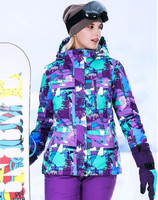 Winter Women's Ski Suit Snow Jackets Pant Snowboarding Suits Female Winter Sport Set Ski Suit Women Waterproof Thermal Snowboard
