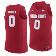 acf224049 NCAA Mens Ohio State Potter 0 Lucas 11 jerseyes Tops Can Customized Any  Number   Any Name