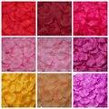 5000 de Seda Artificial Rose Petals Wedding Decoraciones Del Partido Tabla Corredores Del Pasillo de Flores Niña Lanzando 40 Colores FW110 boda pétalo