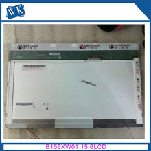 "Ücretsiz Kargo B156XW01 V2 V1 V0 V3 LTN156AT01 LP156WH1 TLC1 CLAA156WA01A N156B3-L02 15.6 ""inch LCD ekran 1366*768 LVDS 30pin"