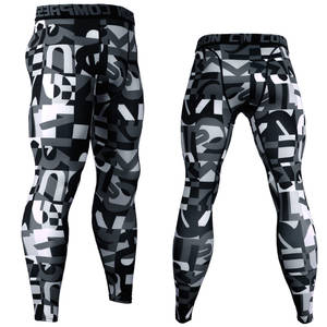 Leggings Men Trousers Tights Compression-Pants Camouflage Joggers Fitness 3d-Printed