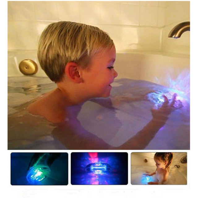 Halloween Toys  In The Bath Tub Waterproof  Light Up Toys Glow In The Dark For Boy Kid Christmas Birthday Noctilucent Toys Gift