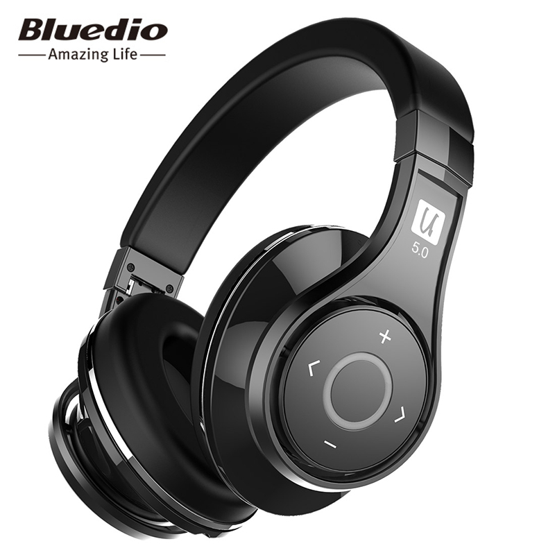 Bluedio U UFO 2 High-End Bluetooth Headphone Patented 8 Drivers HiFi Wireless Headset Supported APTX And Voice Control стоимость