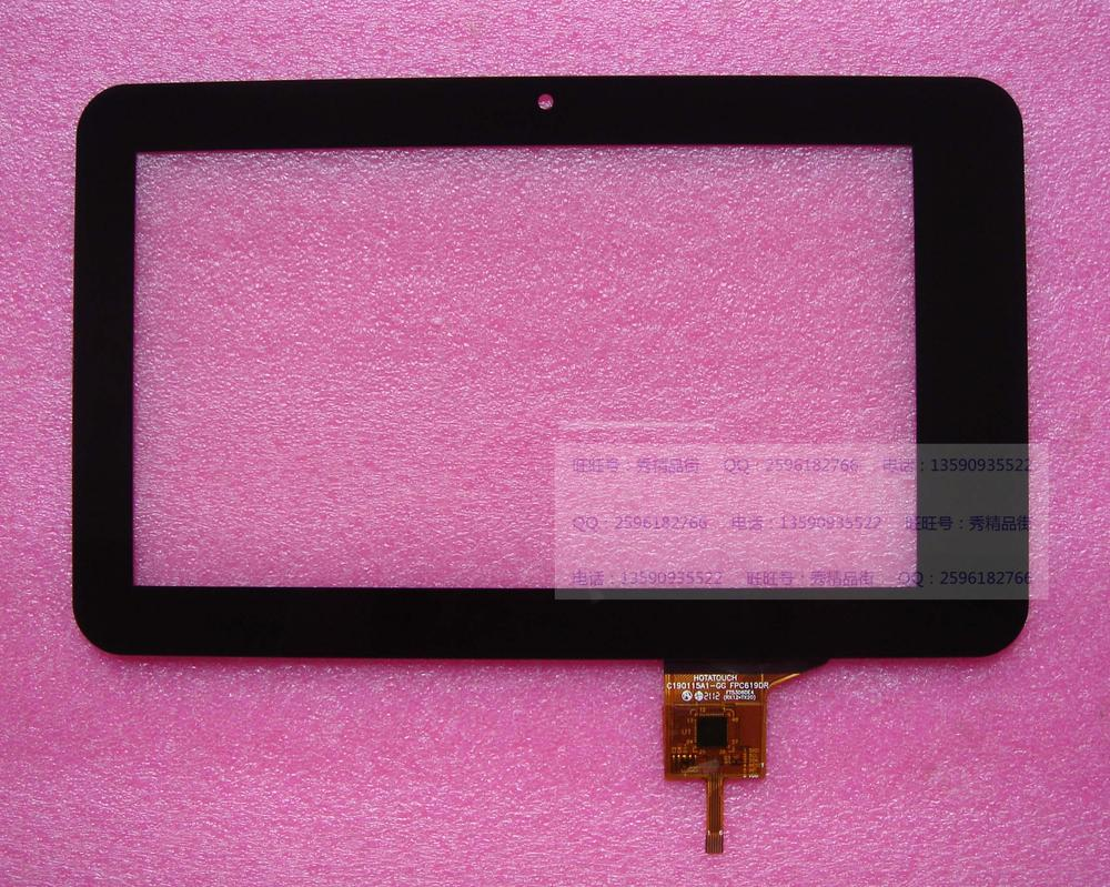 7INCH capacitive touch screen 190x115mm 6 needle cable c190115a1-gg fpc619dr newsmy t7 7inch touch screen capacitive z7z67 z7z35