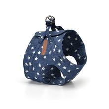 Denim Yorkie harness