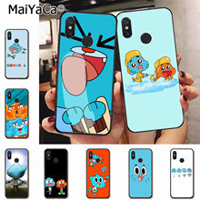 MaiYaCa the Amazing World Gumball gumball Luxury Coque Phone Case for xiaomi mi 6 8 se note2 3 mix2 redmi 5 5plus note 4 5 5(China)