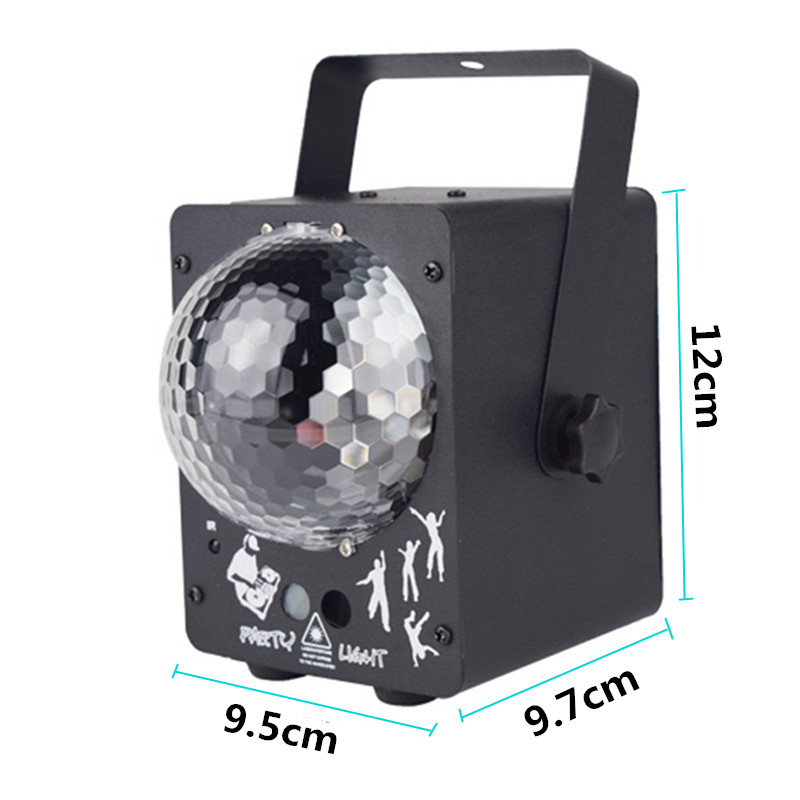 Image 4 - newest 2019 DJ laser RGB stage light projector LED effect lamp disco Christmas holiday bar lighting party indoor lamp remote-in Stage Lighting Effect from Lights & Lighting