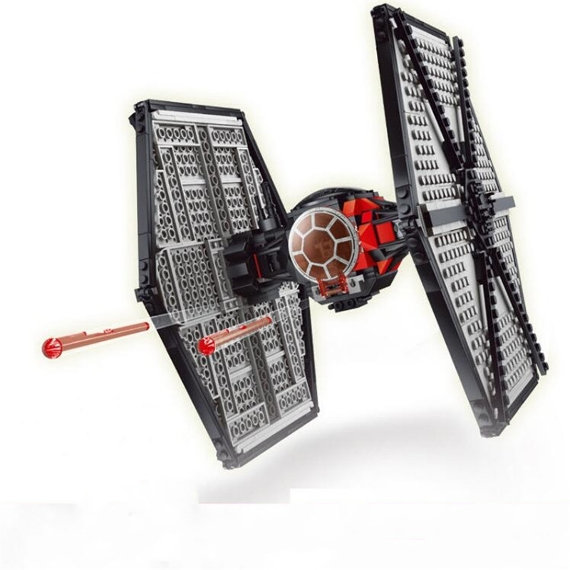 Lepin 05005 Genuine Star Series Wars The First Order Tie Set Fighter legoing 75101 Building Blocks Bricks Educational Toys Gifts lepin 05060 the rogue one usc naboo style fighter set 10026 star series wars 187pcs building blocks bricks educational toys