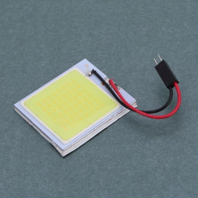 2 W 12 V COB Painel Interiro 48LED Auto Carro Lâmpada de Leitura Mapa Luzes Dome Lâmpada De Emergência Caixa De Carro de Volta luz