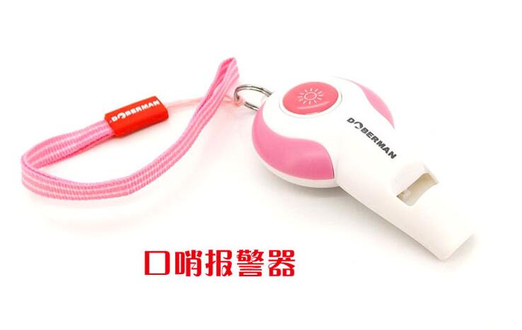 10pcs Pink Little loud electronic Whistle alarm DOBERMAN DOG SECURITY Use for Em