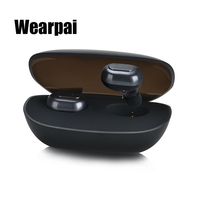 WearPai True Wireless Bluetooth Earbuds Smallest Cordless Earphones And Storage Box With Charger Funtion For IPhone
