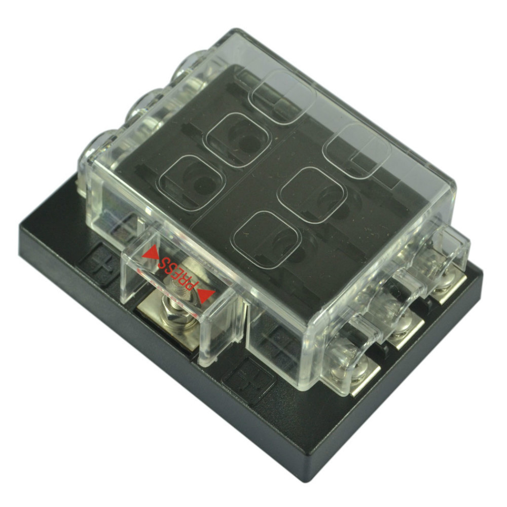 com buy way blade fuse box block holder circuit for com buy 6 way blade fuse box block holder circuit for auto rv boat marine 12v 24v from reliable box paper suppliers on mur gul cliffrunner