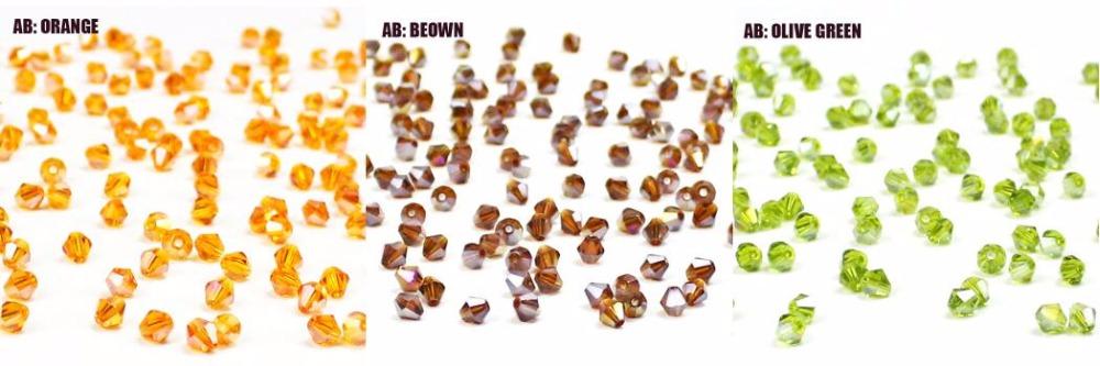 Кристалл; Кристалл чешский; бусина для ювелирных изделий; Бусина 4мм ;